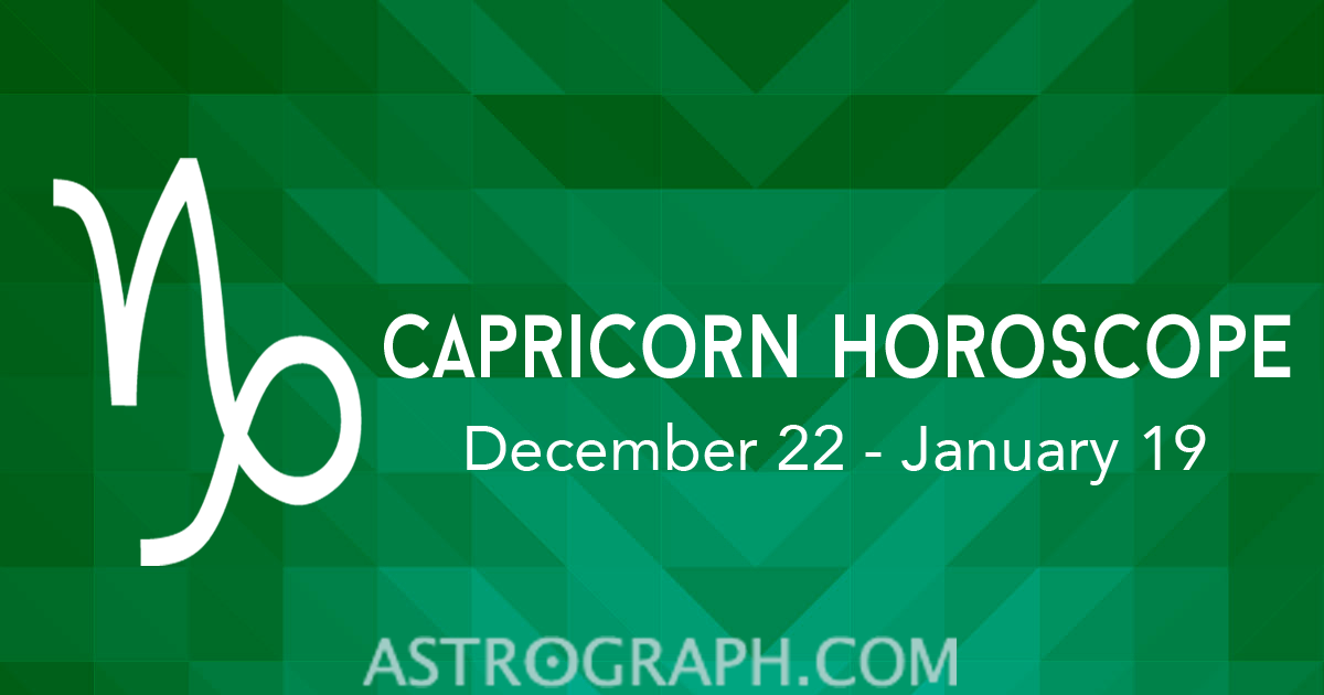 Capricorn Horoscope for October 2015 AstroGraph Astrology Software