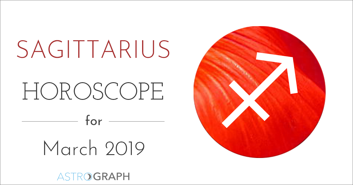 Sagittarius Horoscope for March 2019