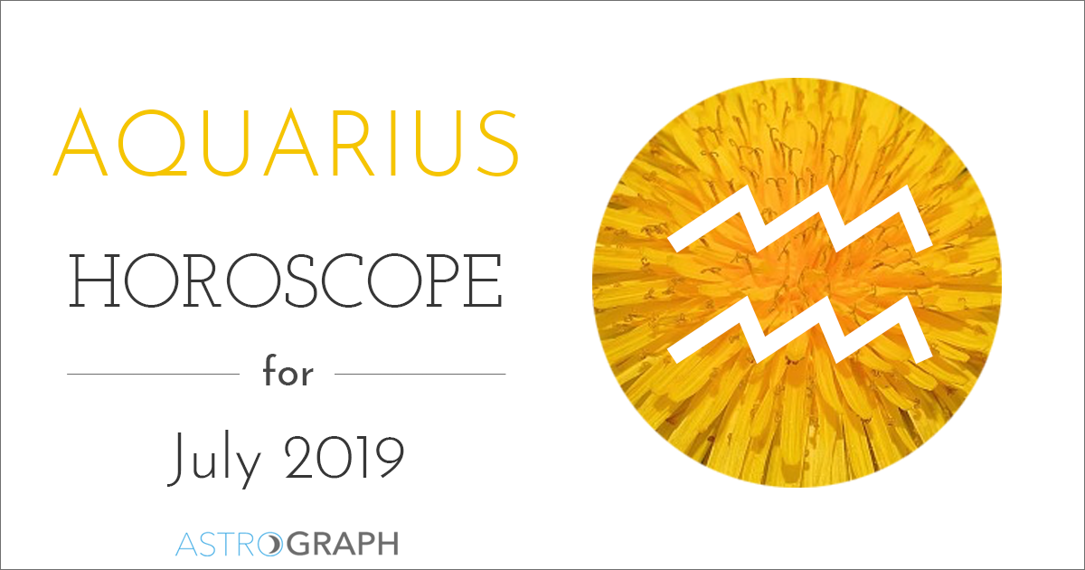 0ce4bcc83 ASTROGRAPH - Aquarius Horoscope for July 2019