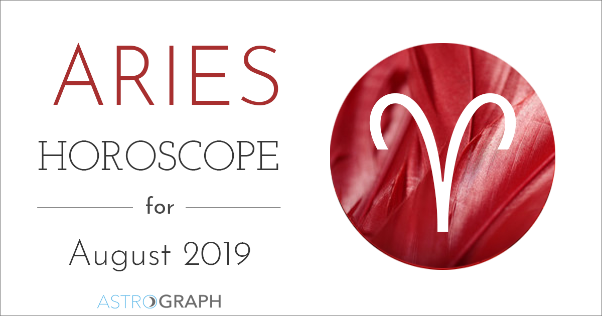 ASTROGRAPH - Aries Horoscope for August 2019