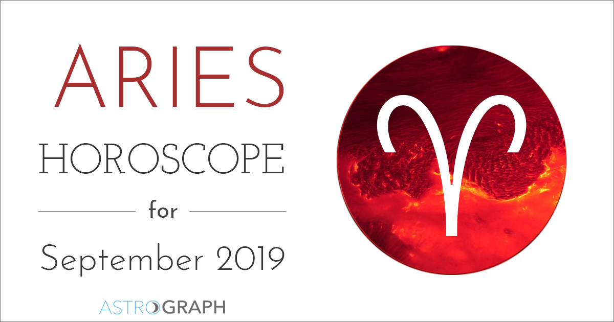 ASTROGRAPH - Aries Horoscope for September 2019