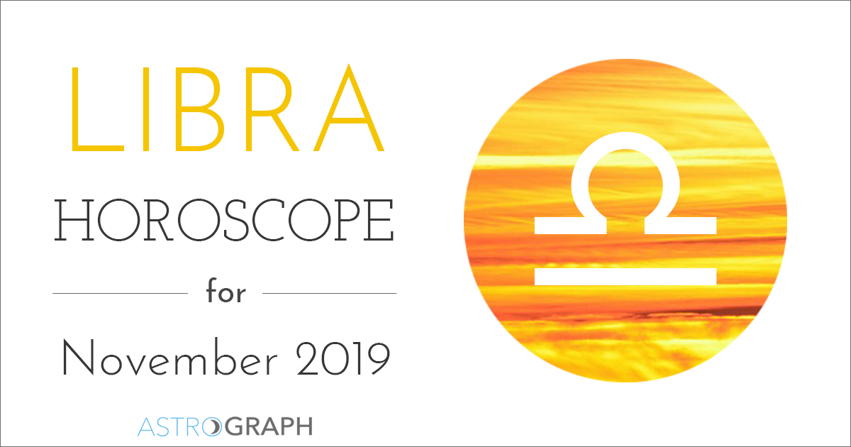 Libra Horoscope for November 2019