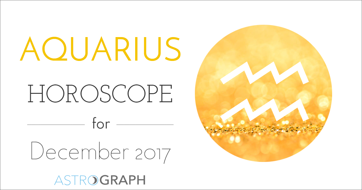 Aquarius Horoscope for December 2017