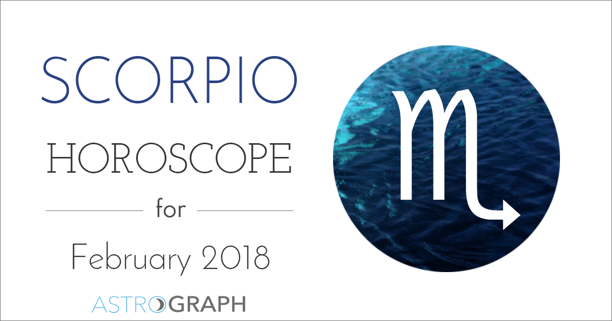 Scorpio Horoscope for February 2018