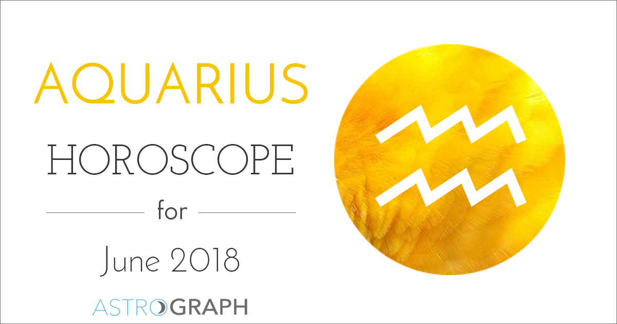 3735589de ASTROGRAPH - Aquarius Horoscope for June 2018