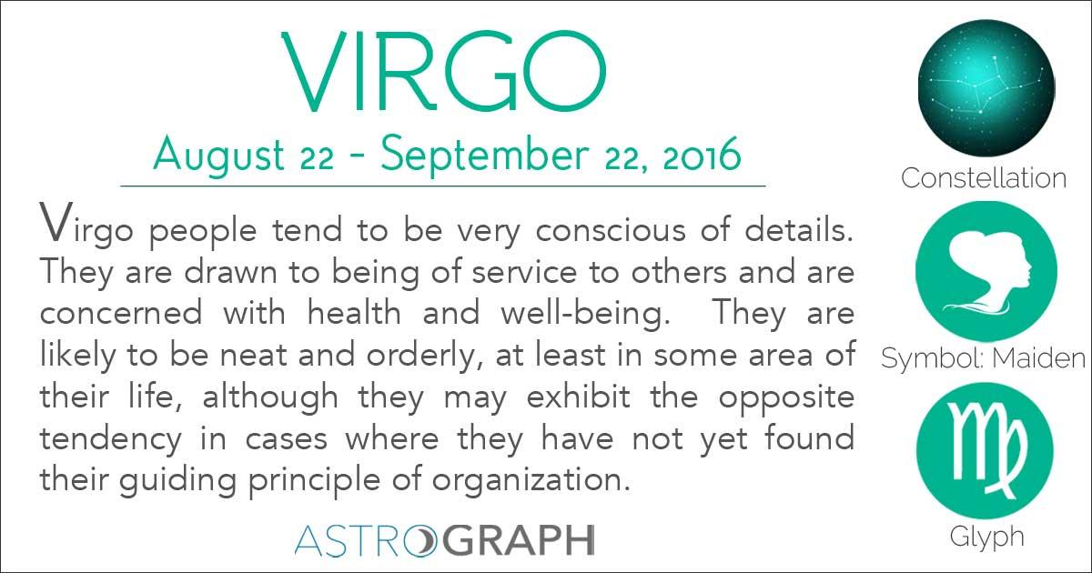 virgo astrological planet