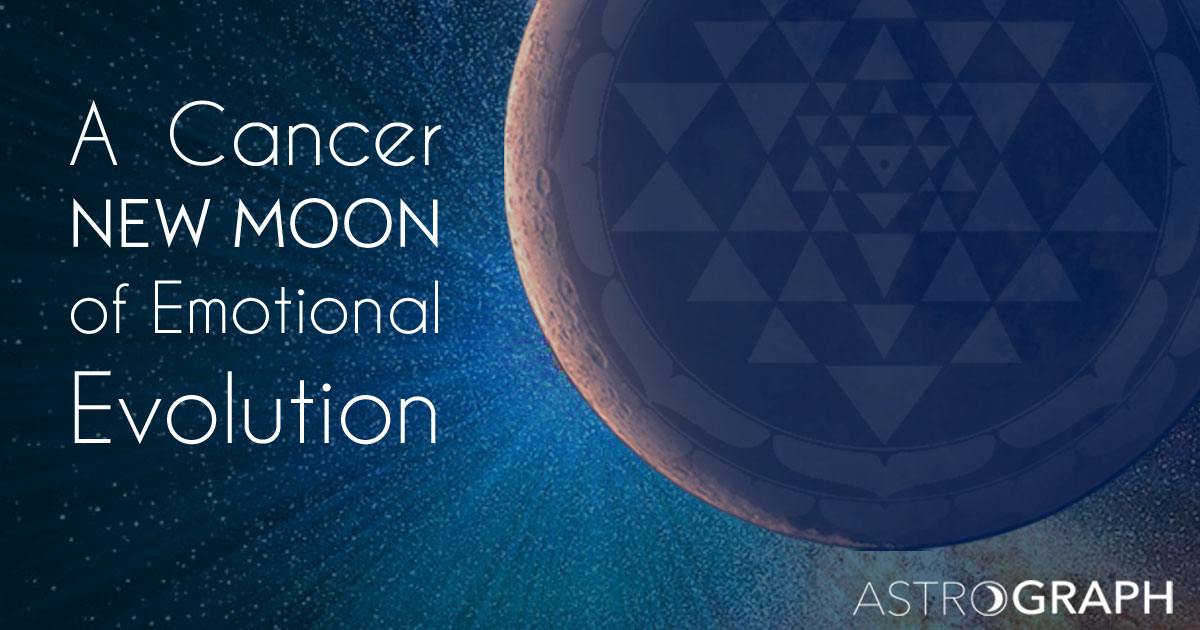 A Cancer New Moon of Emotional Evolution