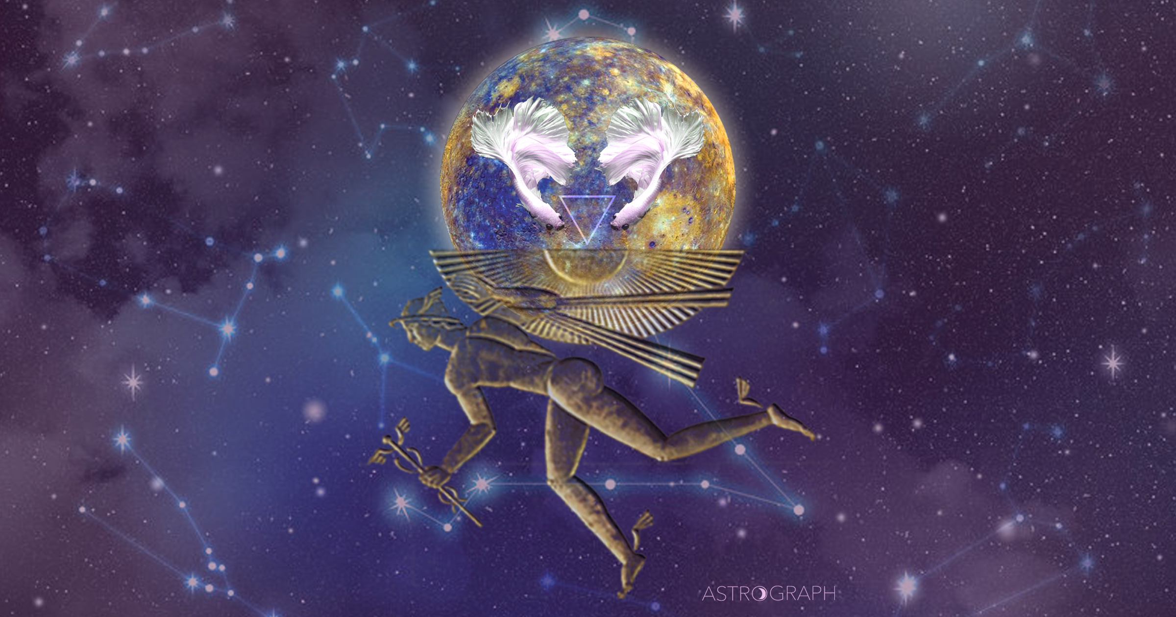 ASTROGRAPH - Mercury Retrograde March 2019: Reflections of Transcendence