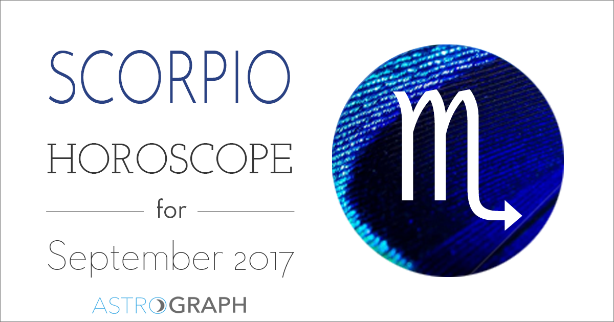 Scorpio Horoscope for September 2017