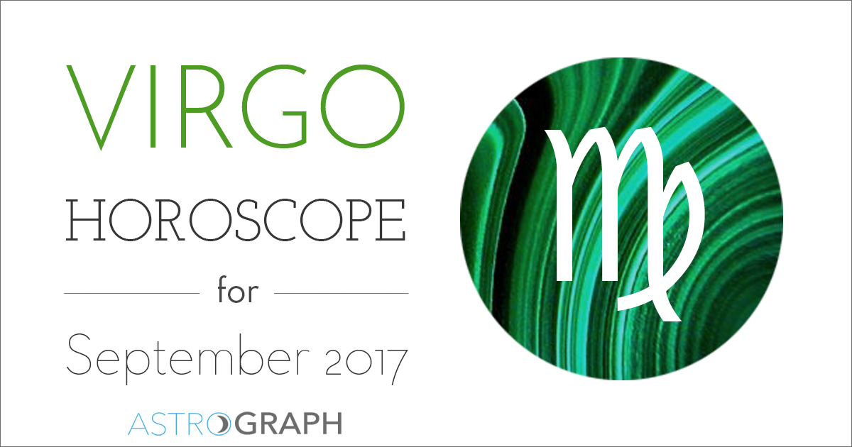 Virgo Horoscope for September 2017