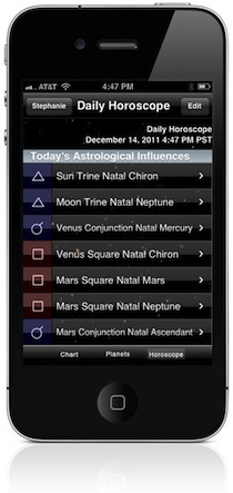 ASTROGRAPH - TimePassages for the iPhone and iPod Touch
